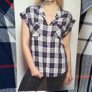 Jachs Girlfriend button up flannel